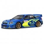 HPI Subaru Impreza WRC 2004 Monte Carlo Rally Clear Body Shell (200mm/WB255mm) - 17505