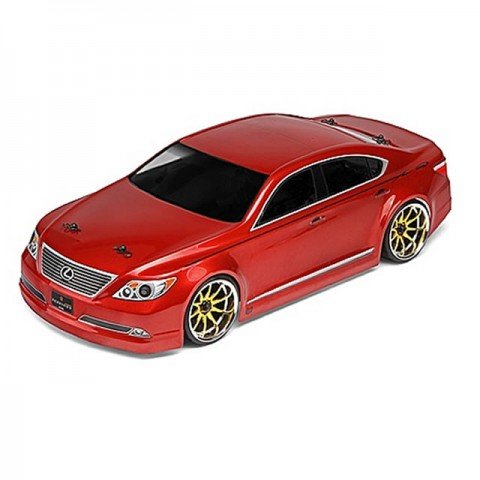 HPI Lexus LS460 Sessions Version Clear Body Shell (200mm) - 30732