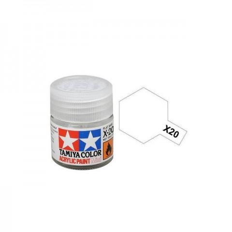 Tamiya Mini X-20A Acrylic Paint Thinner 10ml Bottle - 81520