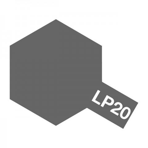 Tamiya LP-20 Light Gun Metal Lacquer Paint Bottle (10ml) - 82120