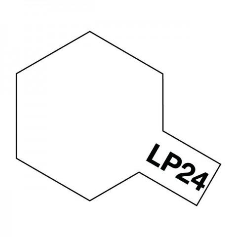 Tamiya LP-24 Semi-Gloss Clear Lacquer Paint Bottle (10ml) - 82124