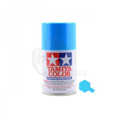 Tamiya PS-3 Light Blue 100ml Polycarbonate Spray Paint - 86003