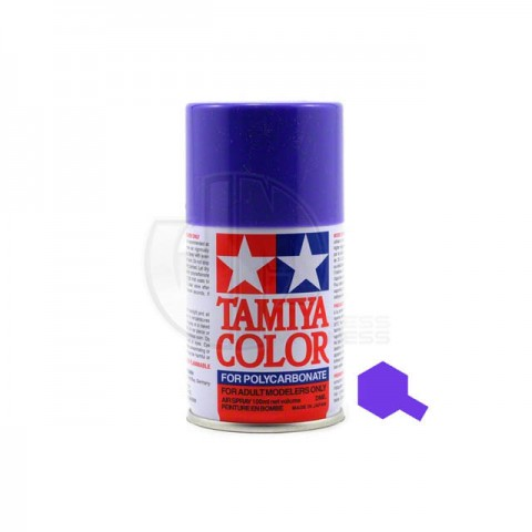 Tamiya PS-10 Purple 100ml Polycarbonate Spray Paint - 86010