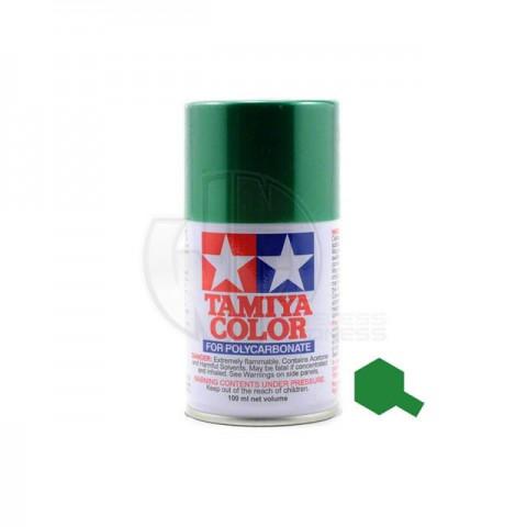 Tamiya PS-17 Metallic Green 100ml Polycarbonate Spray Paint - 86017