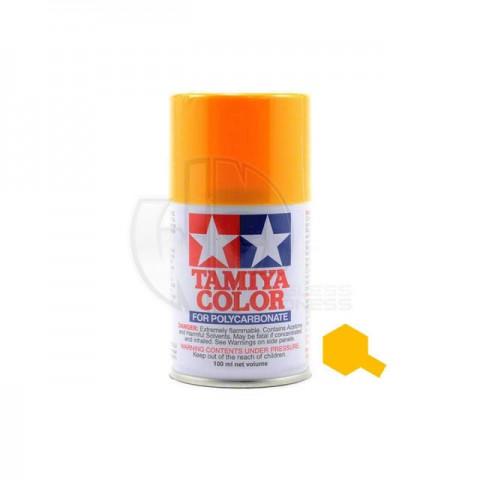 Tamiya PS-19 Camel yellow 100ml Polycarbonate Spray Paint - 86019