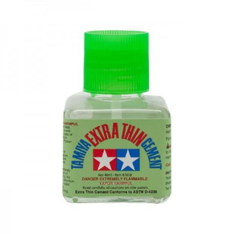 Tamiya Extra Thin Liquid Cement Adhesive for Plastic Hobby Kits (40ml) - 87038