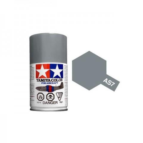Tamiya AS-7 Neutral Grey (USAAF) 100ml Spray Paint for Scale Models - AS86507