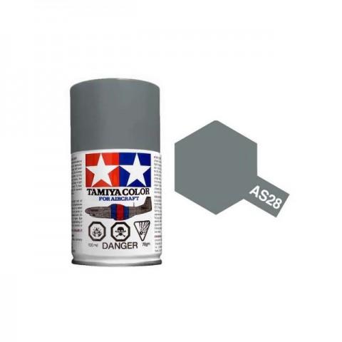Tamiya AS-28 Medium Grey 100ml Spray Paint for Scale Models - AS86528
