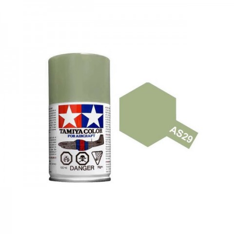 Tamiya AS-29 Grey Green (IJN) 100ml Spray Paint for Scale Models - AS86529