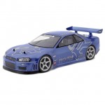 HPI Nissan Skyline R34 GT-R 1/10 Scale Clear Body Shell with Decals (190mm) - HPI-7327