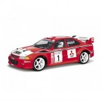 HPI Mitsubishi Lancer EVO VI WRC 1/10 Scale Clear Body Shell with Decals (200mm) - HPI-7448