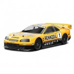 HPI Nissan Skyline R34 GT-R GT 1/10 Clear Body Shell (200mm) - HPI-7467