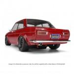 HPI Datsun 510 Clear Body Shell (225mm) - HPI7209