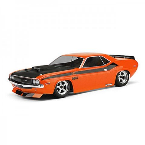 HPI 1970 Dodge Challenger Clear Body Shell (200mm) - 105106