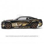 HPI 2010 Chevrolet Camaro Painted Matt Black Body Shell (200mm) - 106981