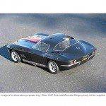 HPI 1967 Chevrolet Corvette Stingray Clear Body Shell (200mm) - 17526