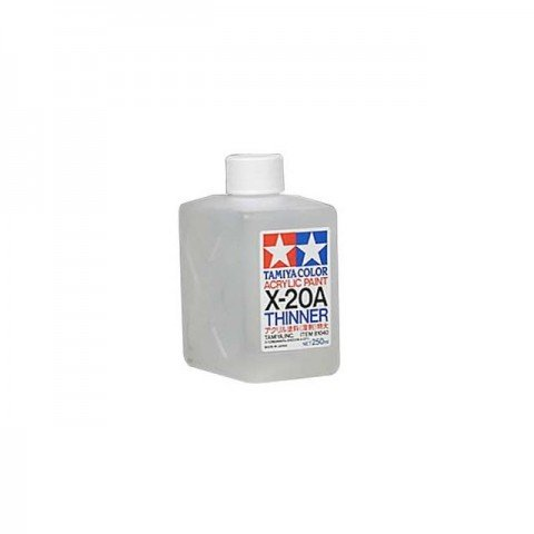 Tamiya X-20A Acrylic Paint Thinner 250ml Bottle - 81040