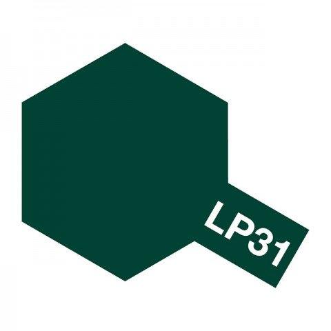 Tamiya LP-31 Dark Green 2 (IJN) Lacquer Paint Bottle (10ml) - 82131