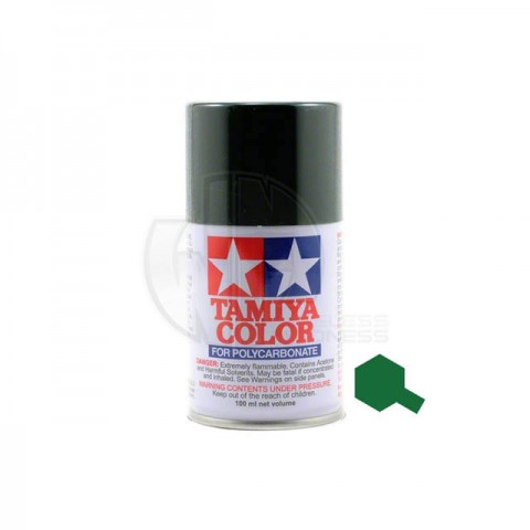 Tamiya PS-9 Green 100ml Polycarbonate Spray Paint - 86009