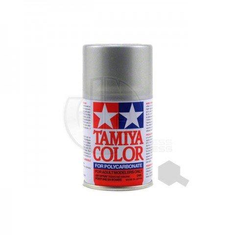 Tamiya PS-36 Silver 100ml Polycarbonate Spray Paint - 86036
