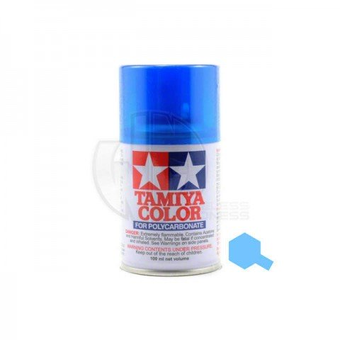 Tamiya PS-39 Translucent Light Blue 100ml Polycarbonate Spray Paint - 86039