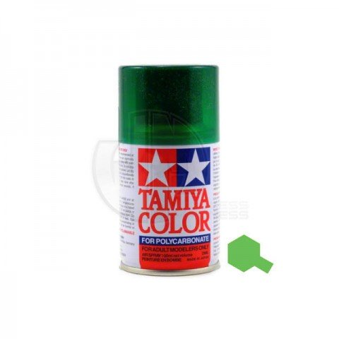 Tamiya PS-44 Translucent Green 100ml Polycarbonate Spray Paint - 86044