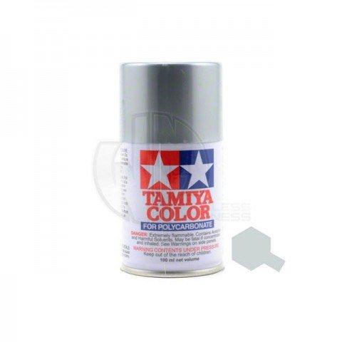 Tamiya PS-48 Anodised Silver 100ml Polycarbonate Spray Paint - 86048