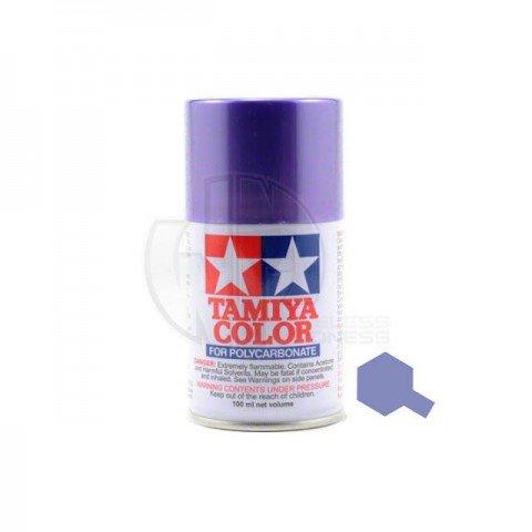 Tamiya PS-51 Anodised Aluminium Purple 100ml Polycarbonate Spray Paint - 86051