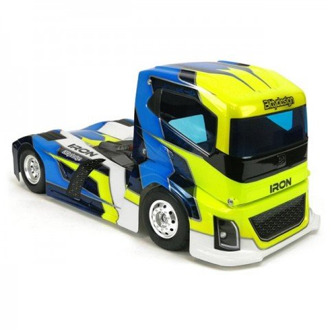 Bittydesign 1/10 190mm IRON Truck Clear Bodyshell - BD-TRK-190IRO