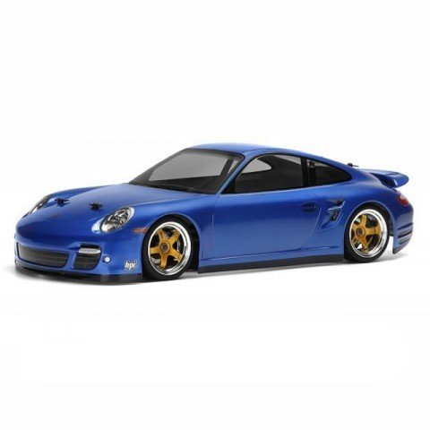 HPI Porsche 911 Turbo 1/10 Clear Body Shell (200mm) - HPI-17527