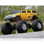 HPI Hummer H2 Officially Licensed Clear Body Shell - HPI-7165