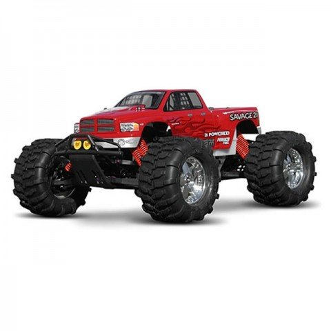 HPI 1/8 Scale Dodge Ram 2002 Truck Clear Body Shell with Decal Sheet - HPI-7178