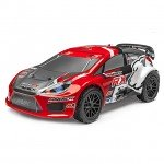 Maverick Strada RX Rally Car 1/10 Painted Body Shell (Red) - MV22757