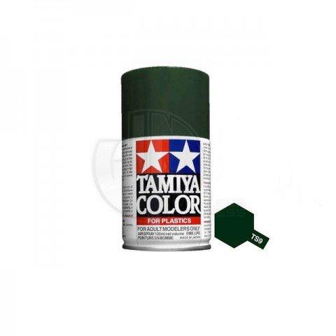 Tamiya TS-9 British Green 100ml Acrylic Spray Paint - TS-85009