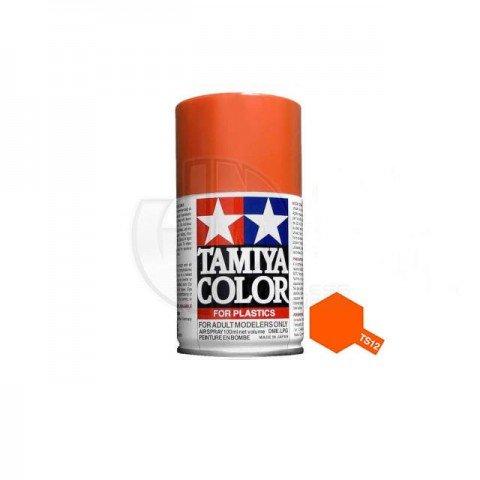 Tamiya TS-12 Orange 100ml Acrylic Spray Paint - TS-85012