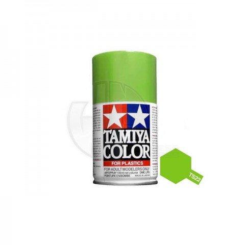 Tamiya TS-22 Light Green 100ml Acrylic Spray Paint - TS-85022