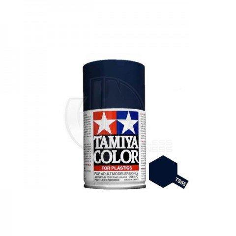 Tamiya TS-55 Dark Blue 100ml Acrylic Spray Paint - TS-85055