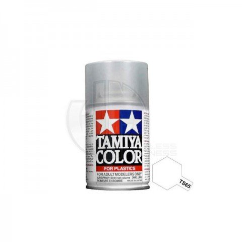 Tamiya TS-65 Pearl Clear 100ml Acrylic Spray Paint - TS-85065