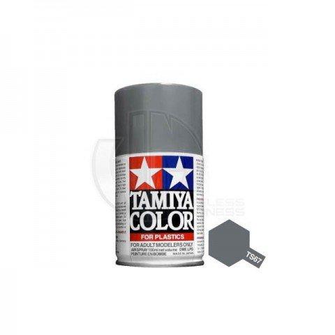 Tamiya TS-67 Flat UN Grey (Sasebo) 100ml Acrylic Spray Paint - TS-85067