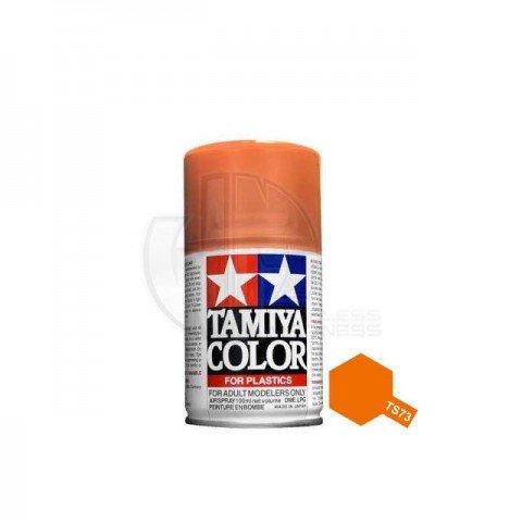 Tamiya TS-73 Clear Orange 100ml Acrylic Spray Paint - TS-85073