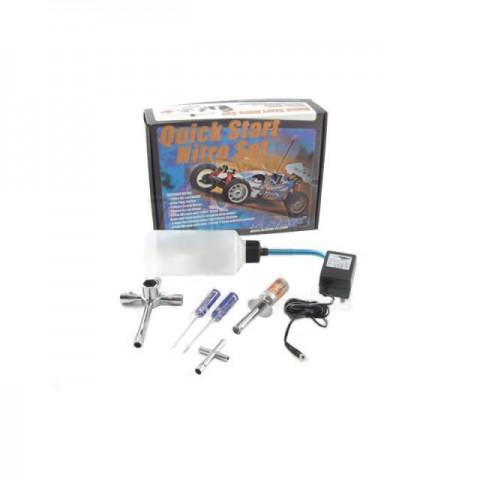 Fastrax Quick Start Nitro Glow Starter Pack Fuel Bottle & Tool Kit - FAST691
