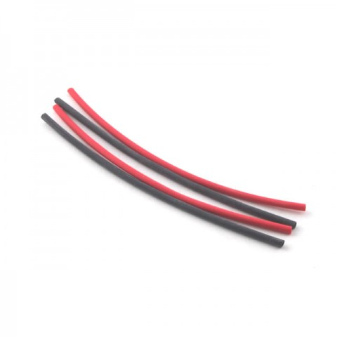 Fastrax 1.6mm Heatshrink Red and Black (4 Pieces) - FAST96