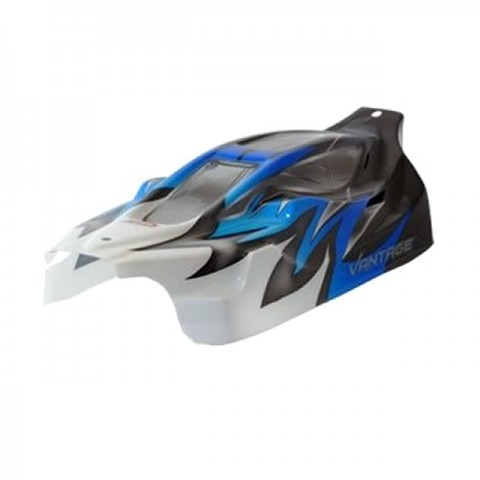 FTX Vantage Brushed Standard Printed Body Shell (Blue) - FTX6281