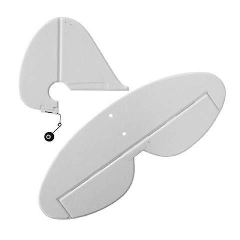 HobbyZone Super Cub EP and LP Complete Tail with Accessories - HBZ7125
