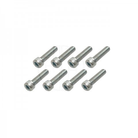 FlightLine M5 x 25mm Socket Head Bolt (Pack of 8 Bolts) - HFL9725
