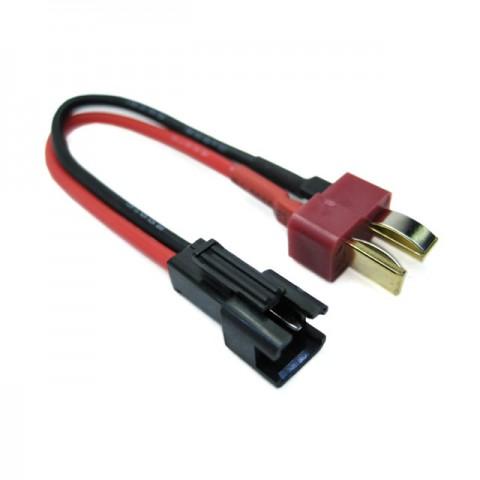 Etronix SM Female Connector to Deans Male Plug Adaptor - ET0809