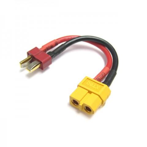 Etronix Female XT60 to Male Deans Plug Connector Adaptor - ET0842