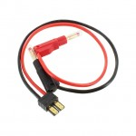 Logic RC Charger Lead 4mm Gold Banana Connectors to Traxxas Connector - LGL-CLTRX