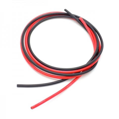 Radient Silicone Wire 16AWG 2ft/0.6m (Red/Black) - RDNAC010146