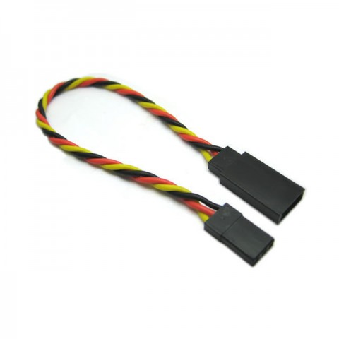 Etronix 22AWG JR 30cm Twisted Extension Wire - ET0735
